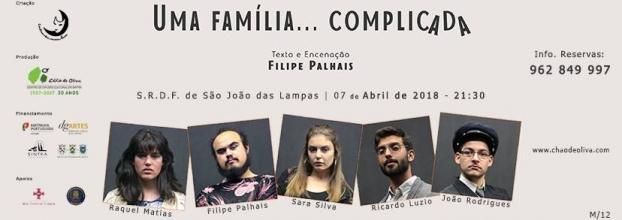 """Teatro - """"Uma família... complicada"""""""