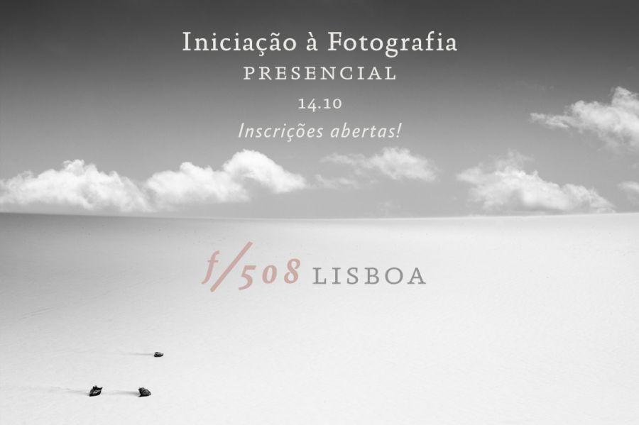 Iniciação à Fotografia // Curso Presencial