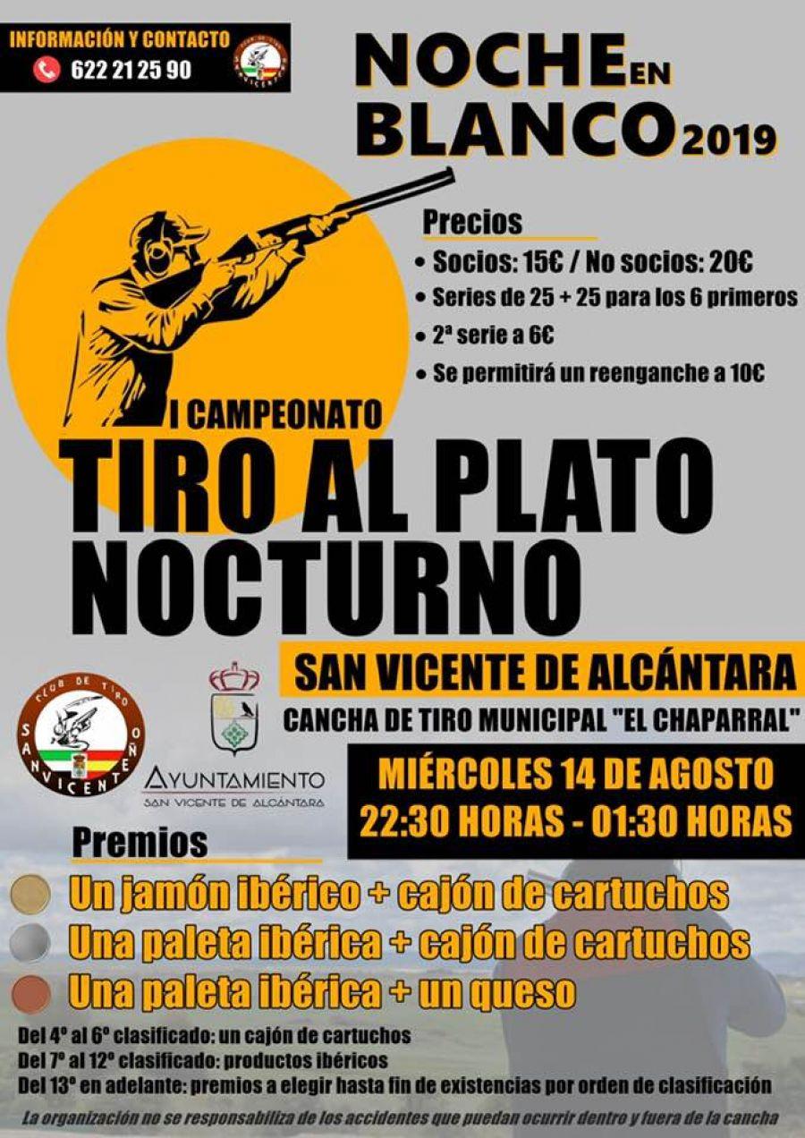 I CAMPEONATO DE TIRO AL PLATO NOCTURNO