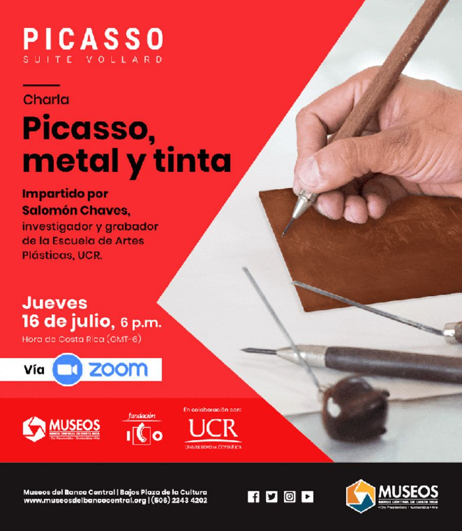 Charla: Picasso, metal y tinta