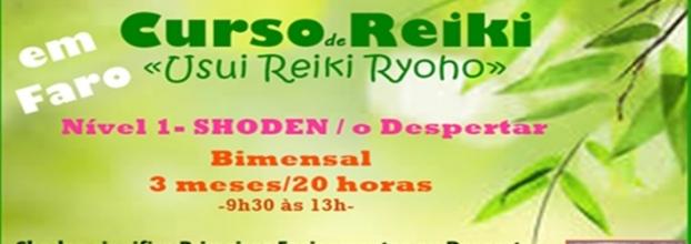 Curso Reiki (Usui Reiki Ryoho), Nível 1, dia 08 de Junho/2019, Faro