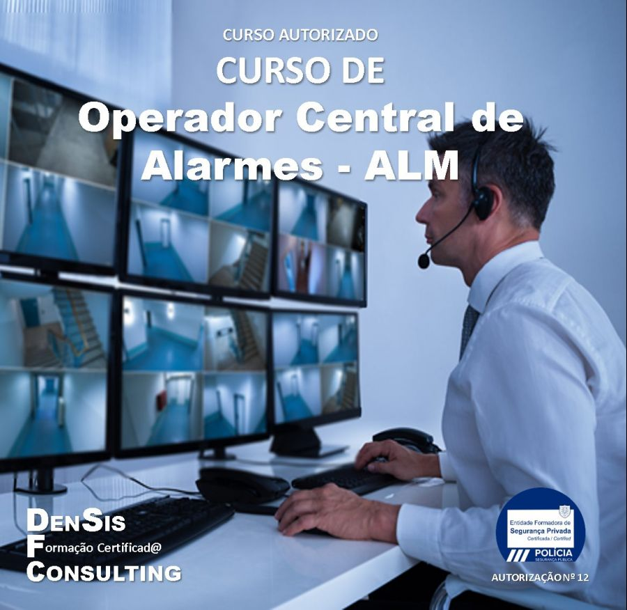 Curso de Operador de Central de Alarmes - ALM