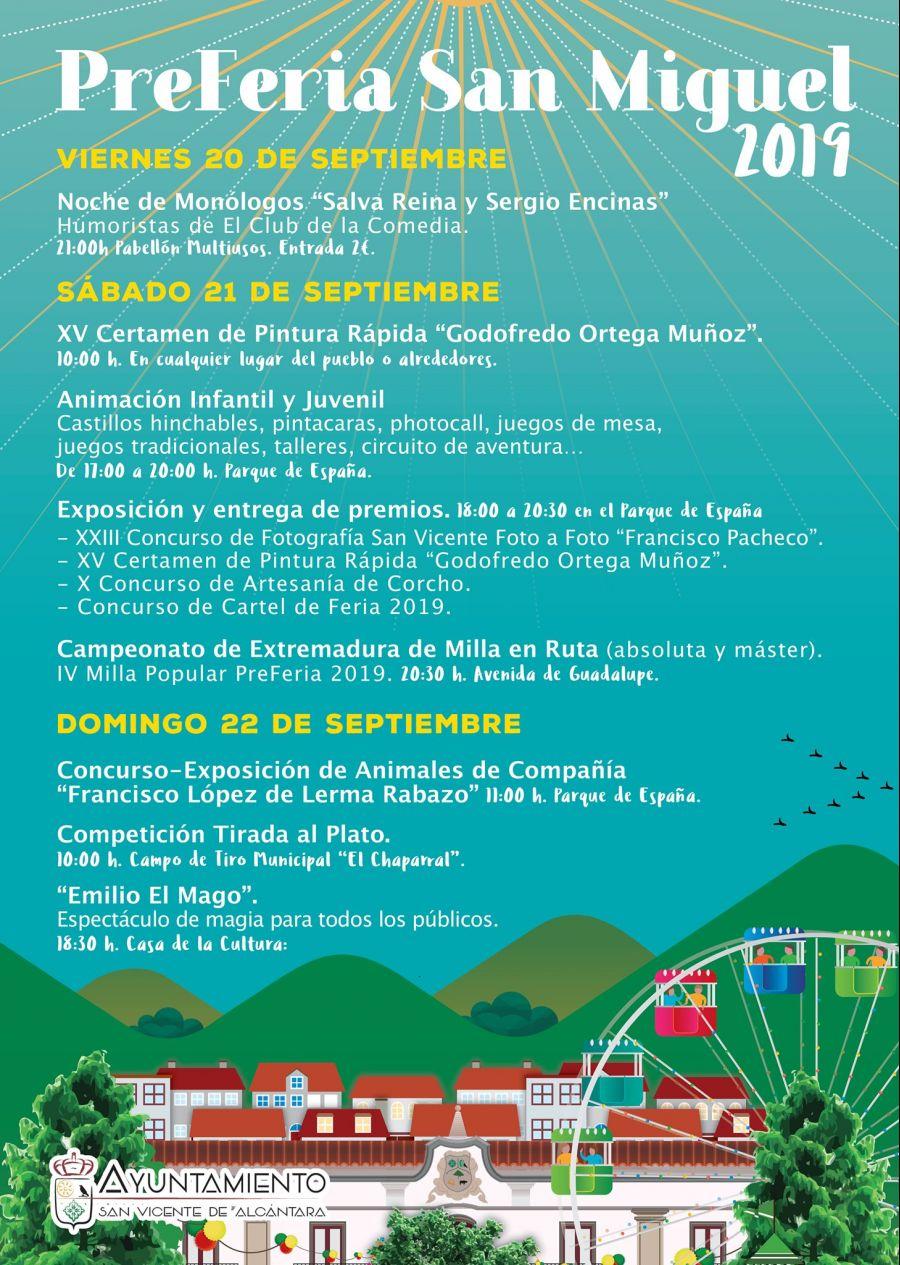 PreFeria San Miguel 2019