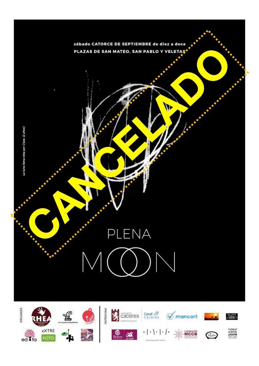 SE CANCELA // Plena MOON Cáceres 2019 | SEPTIEMBRE