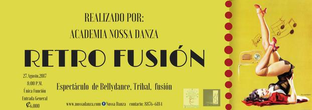 Retro Fusión. Bellydance, Tribal y Fusión