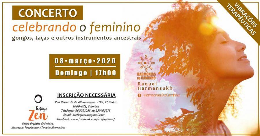 Celebrando o Feminino - Concerto Meditativo HdC(Coimbra)