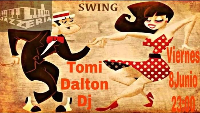 Tomi Dalton DJ en La Jazzería