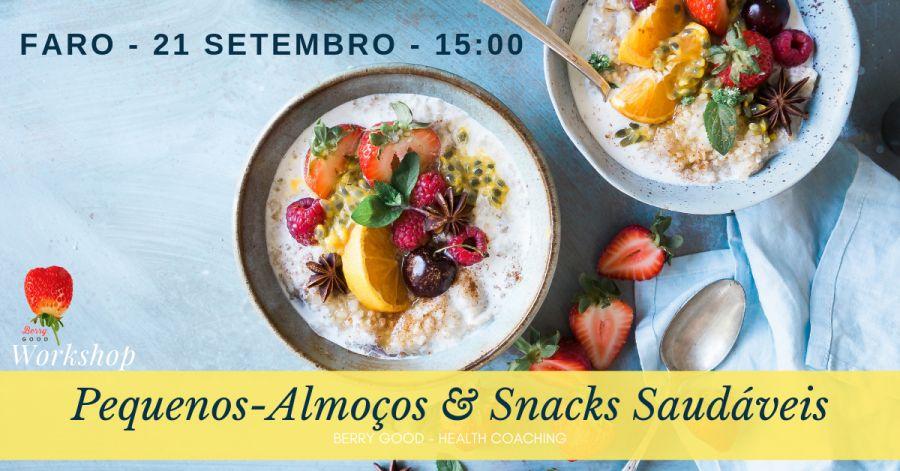Workshop de Pequenos-Almoços e Snacks Saudáveis