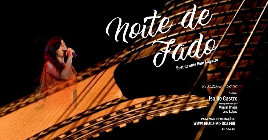 Noite de Fados - Restaurante Dom Augusto