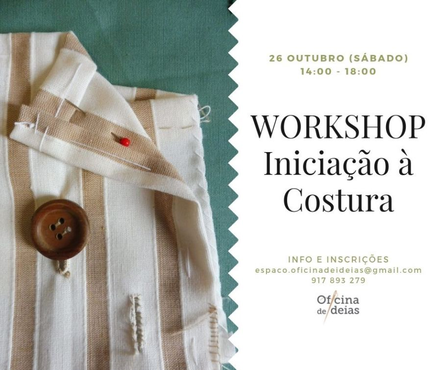 Workshop 'Iniciação à Costura'