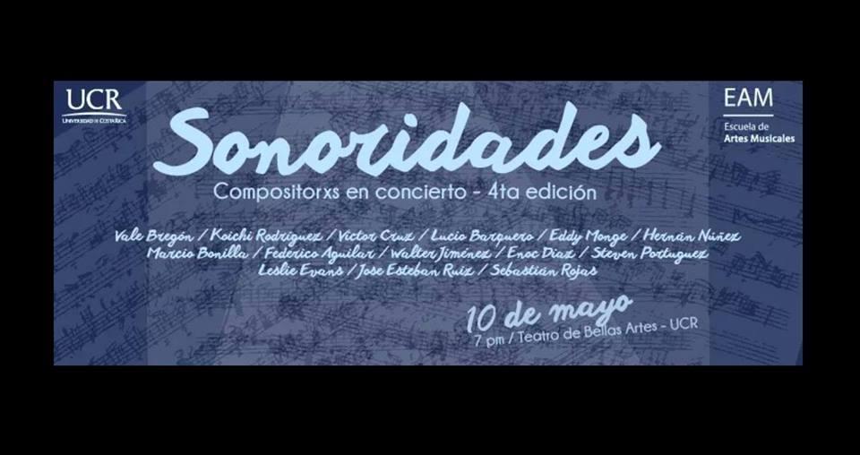 Sonoridades: Compositorxs en concierto