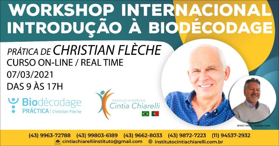 WORKSHOP INTERNACIONAL INTRODUÇÃO À BIODÉCODAGE
