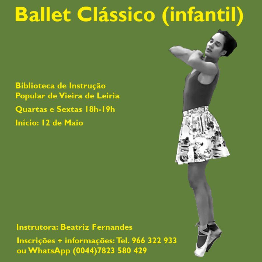 Aulas de Ballet Clássico Infantil em Vieira de Leiria