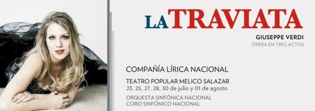 Ópera. La Traviata, de Guiseppe Verdi.