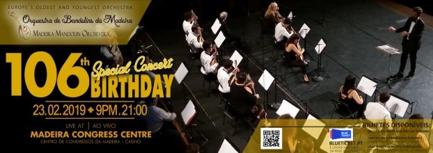 106º Aniversário da Orquestra de Bandolins da Madeira | Concerto Especial