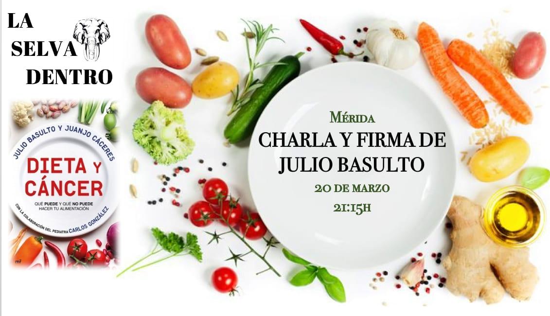 Julio Basulto     Charla y firma