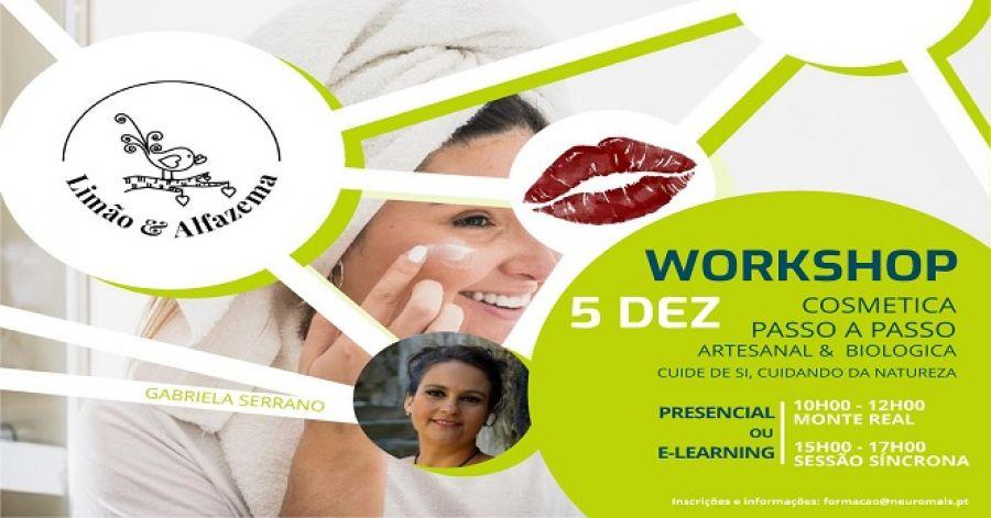 Workshop Cosmética Passo a Passo - Artesanal & Biológica