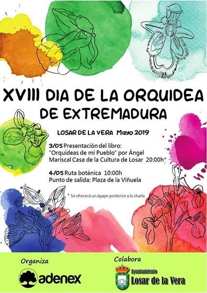 XVIII DÍA DE LA ORQUÍDEA DE EXTREMADURA