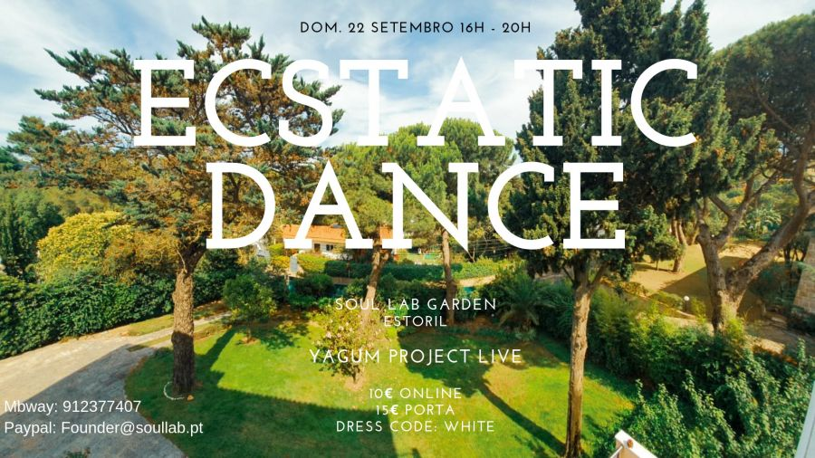 Ecstatic Dance Cascais/Estoril Dom. 22 Sep. 16h - 20h