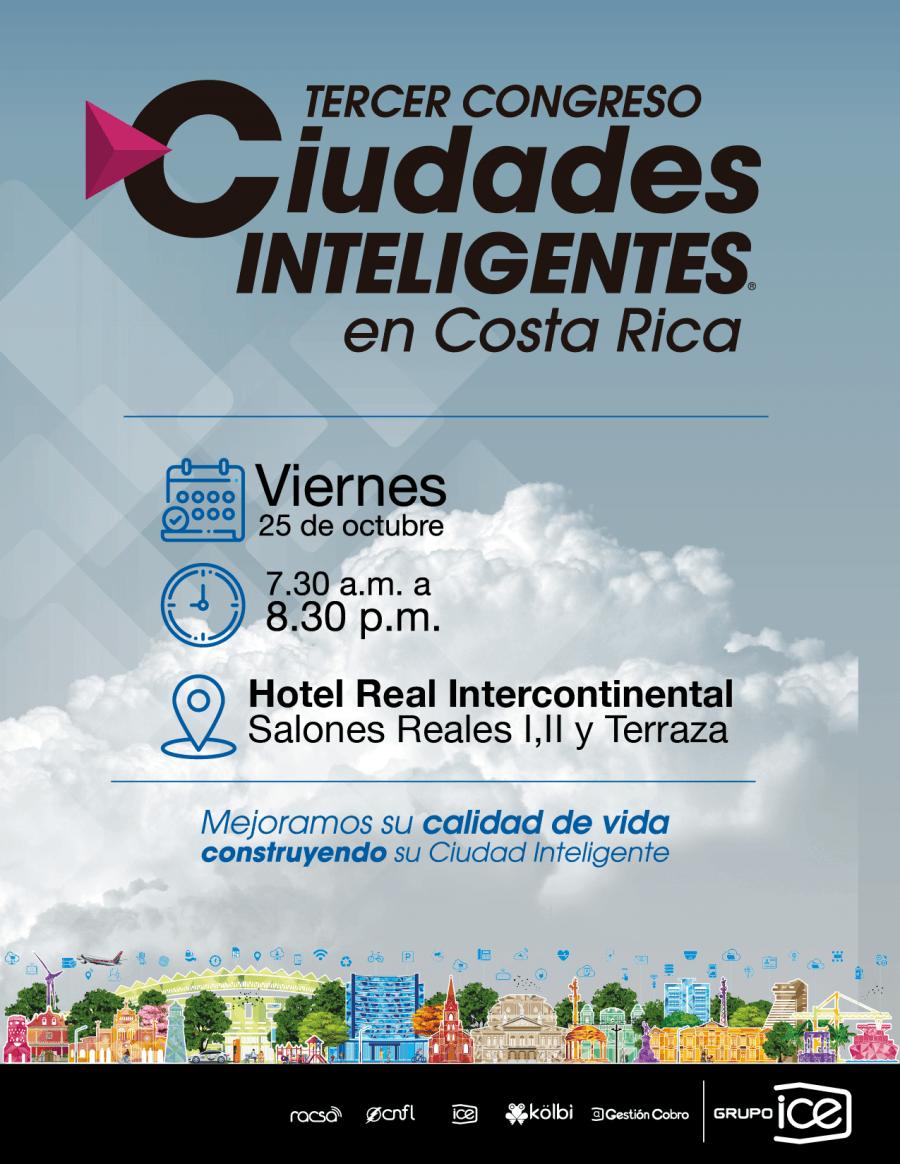 Tercer congreso. Ciudades inteligentes en Costa Rica