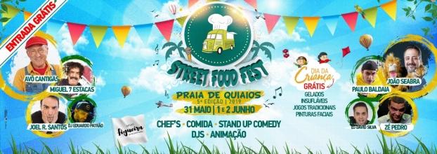 STREET FOOD FEST na Praia de Quiaios