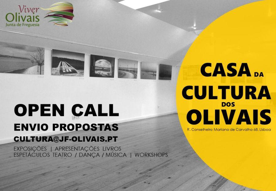 Open Call - Casa da Cultura dos Olivais
