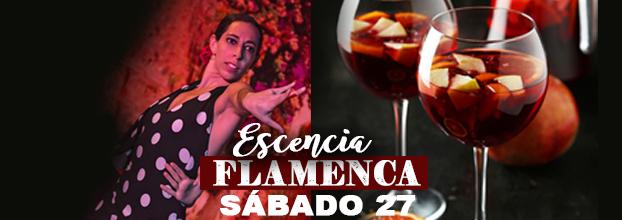 ¡Escencia Flamenca! Experiencia frente al escenario