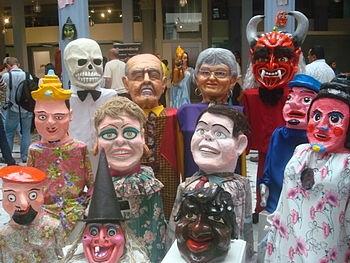 Máscaradas y sus significados. Marco Flores. Confección