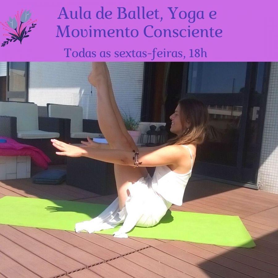 Aula de Ballet, Yoga e Movimento Consciente