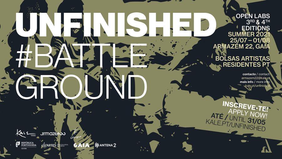 UNFINISHED OPEN LABS #BattleGround 3ª & 4ª Ed. Summer 2021