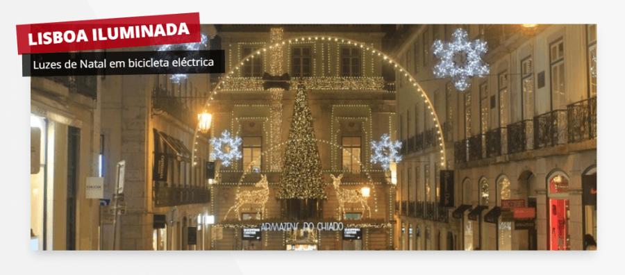 Visita Guiada - Lisboa Iluminada (Bicicleta Eléctrica)
