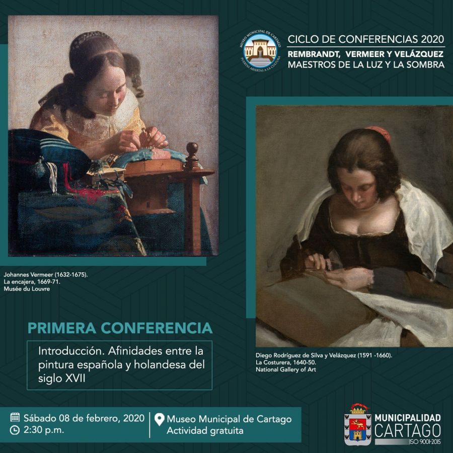 Primera conferencia 2020. Afinidades entre la pintura española y holandesa del siglo XVII. Flor de María Gallardo Álvarez