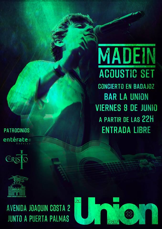 MadeIN Acoustic Set - Live in Badajoz