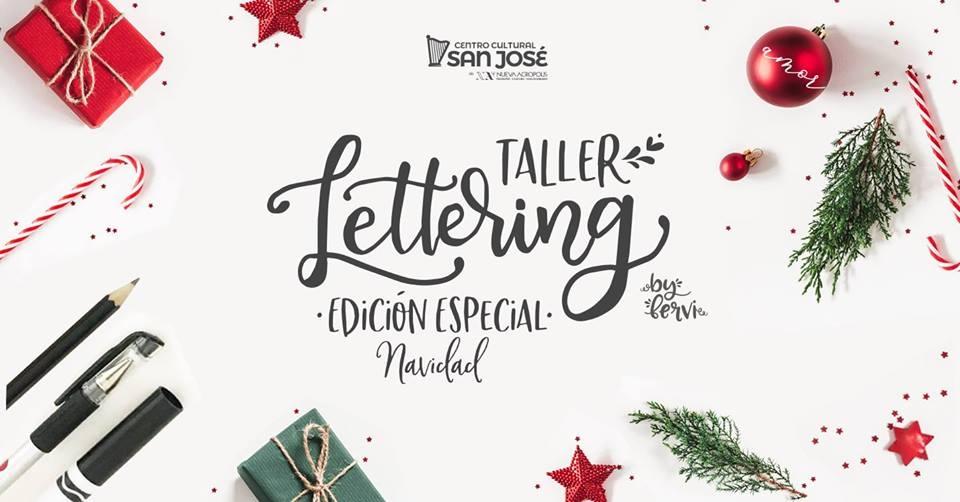 Edición especial. Lervi. Lettering y caligrafía