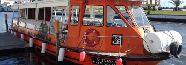 Nossa Senhora dos Navegantes a bordo da lancha CALE DO OIRO