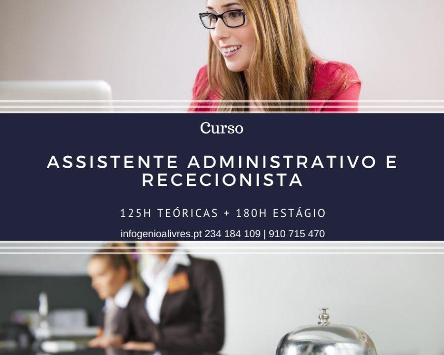 Curso de Assistente Administrativo e Rececionista