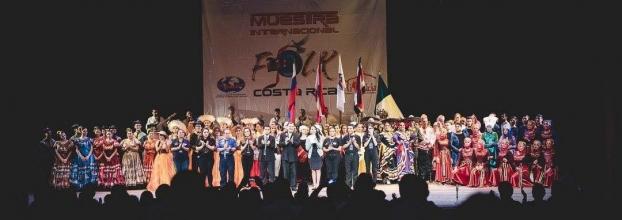 """Muestra Folclórica: Costa Rica le baila al Mundo"""