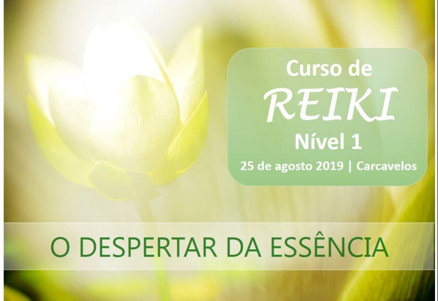 REIKI ESSENCIAL– NÍVEL 1 - O DESPERTAR DA ESSÊNCIA