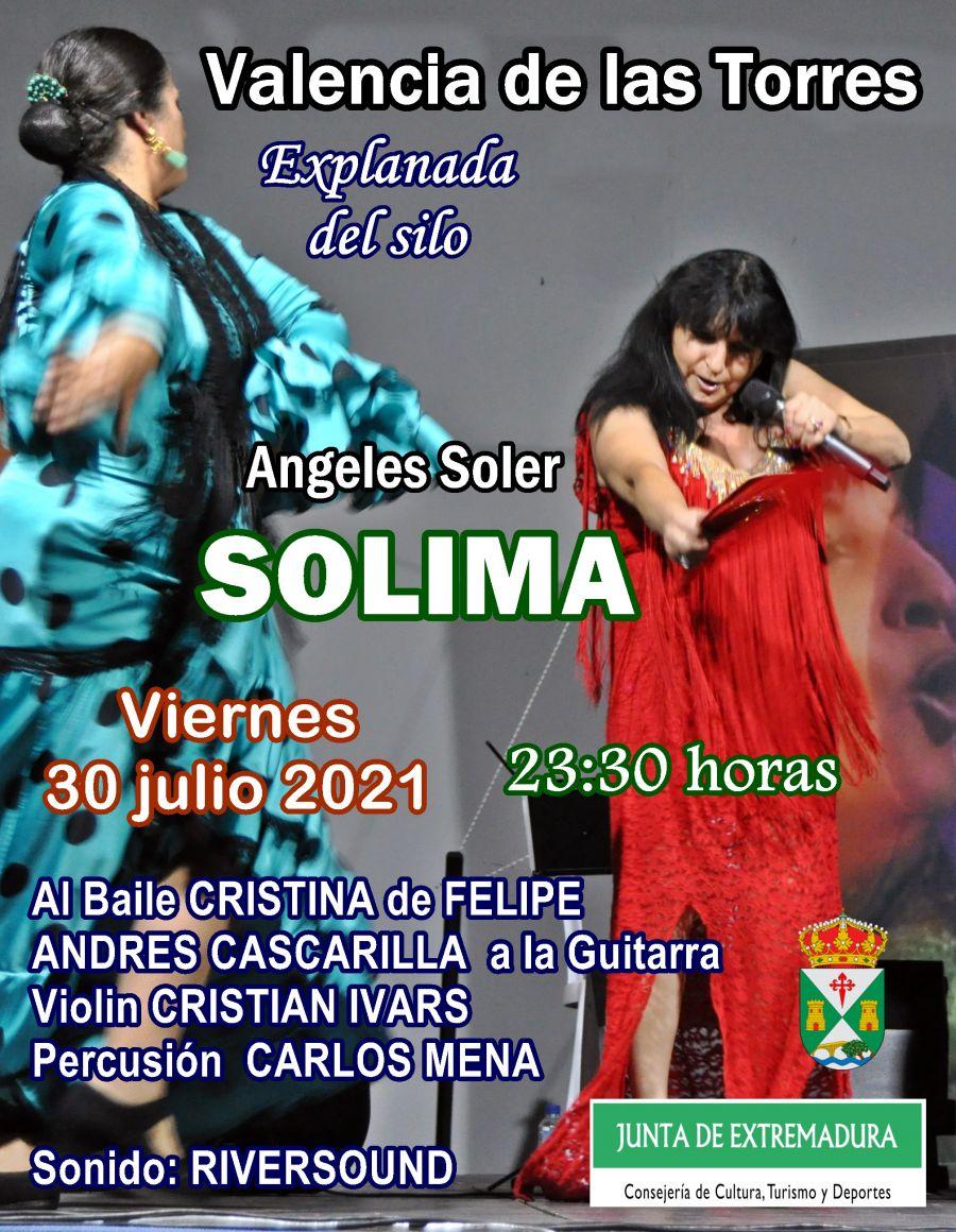 Angeles Soler SOLIMA en VALENCIA de las TORRES