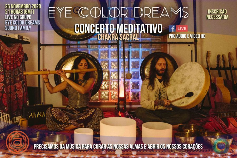 Concerto Meditativo Chakra Sacral (Online)