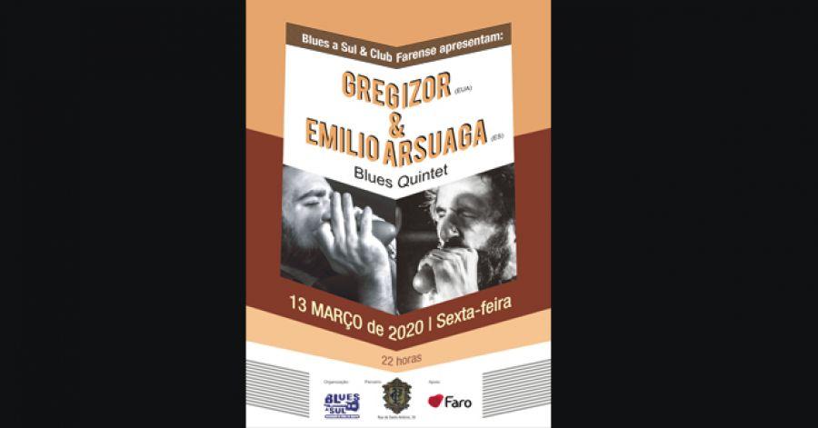 Greg Izor & Emilio Arsuga Blues Quintet
