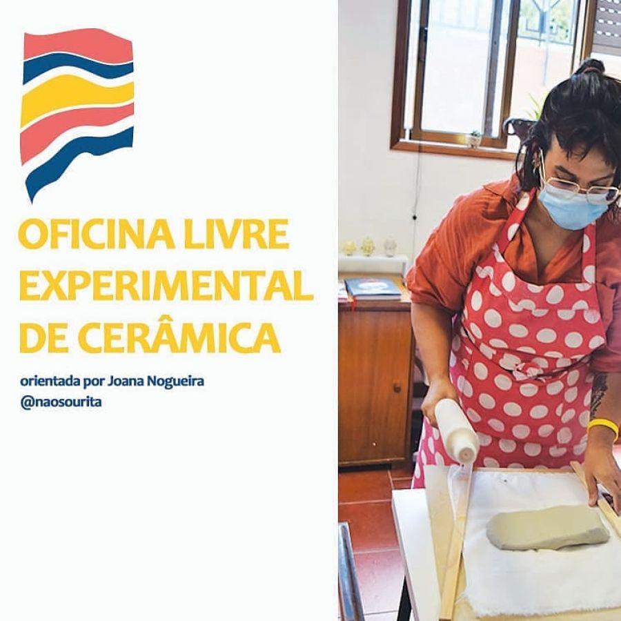 Oficina livre experimental de ceramica