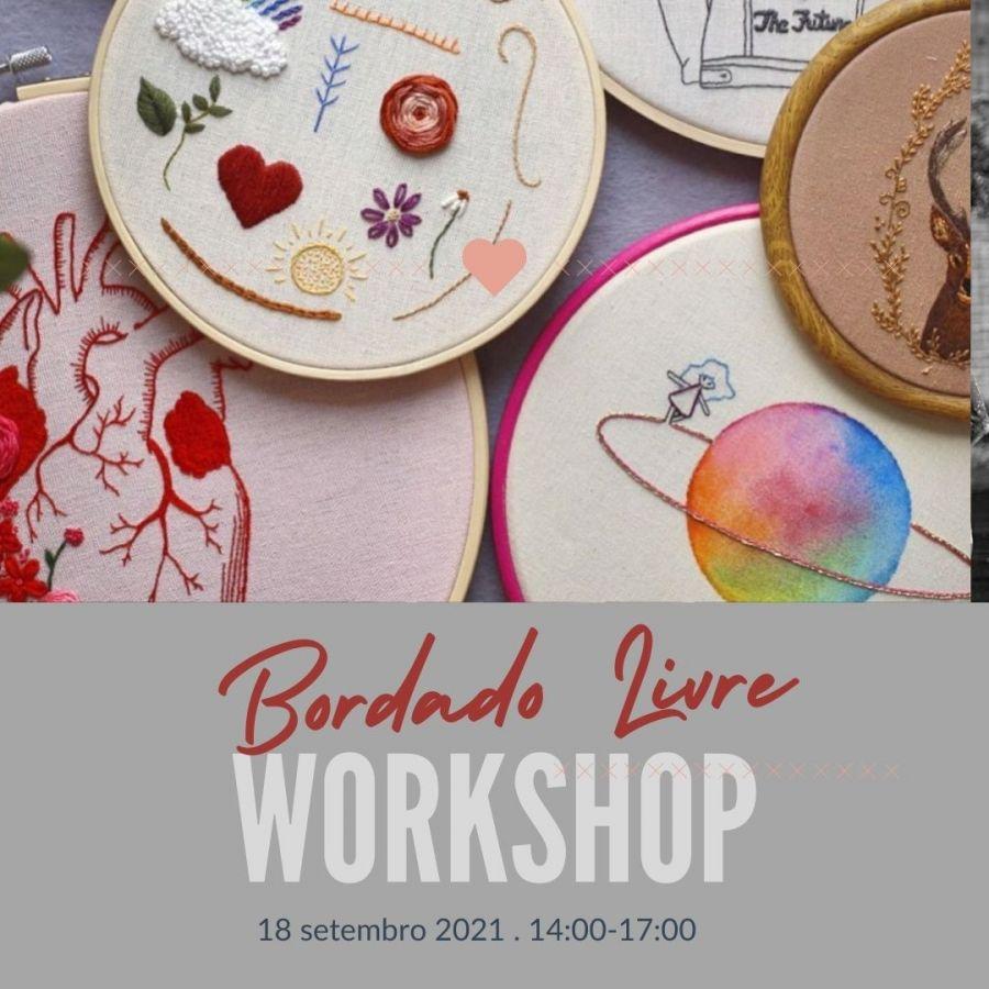 Workshop 'Bordado Livre'