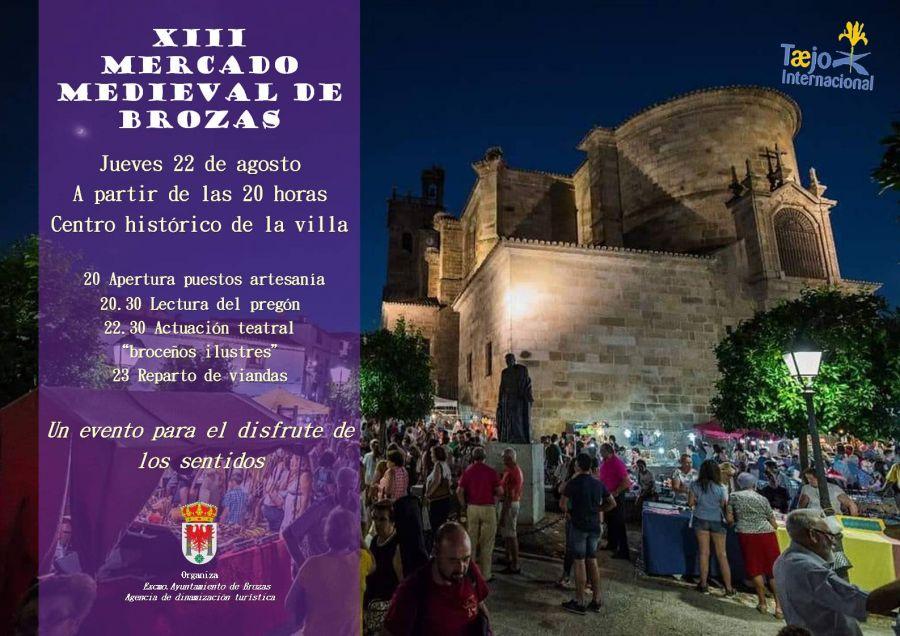 XIII MERCADO MEDIEVAL EN BROZAS