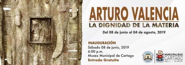 La dignidad de la materia. Arturo Valencia. Escultura