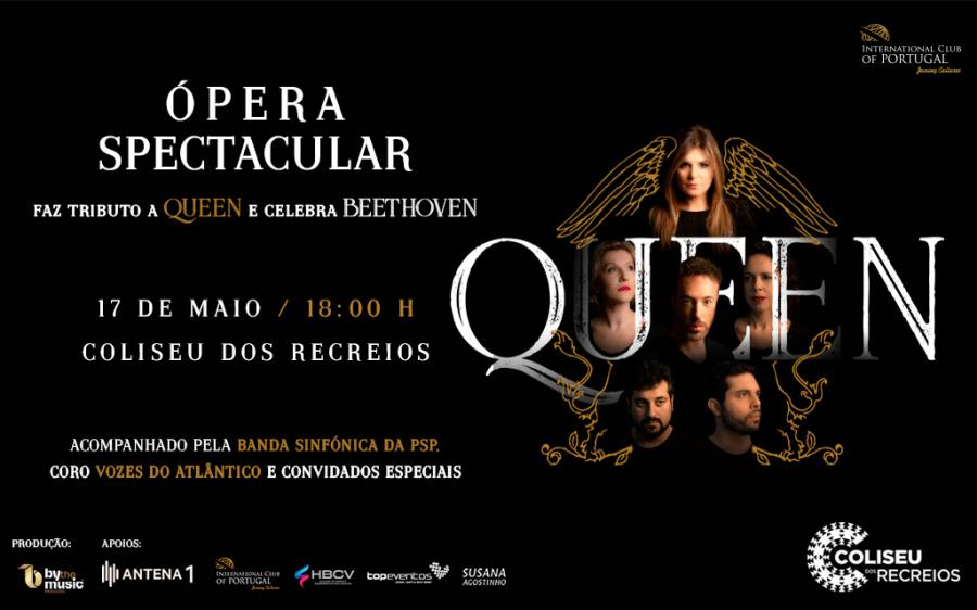Ópera Spectacular - Tributo Queen  Celebra Beethoven
