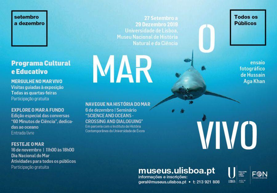 Visita Guiada | Exposição O Mar Vivo: Ensaio Fotográfico de Hussain Aga Khan