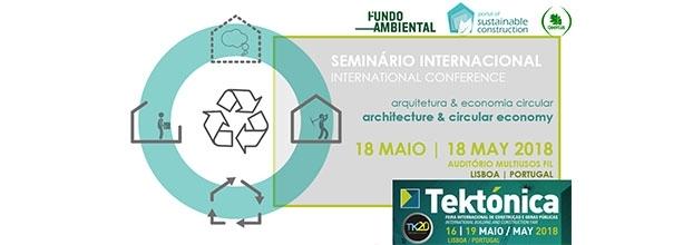 SEMINÁRIO INTERNACIONAL   ARQUITETURA & ECONOMIA CIRCULAR