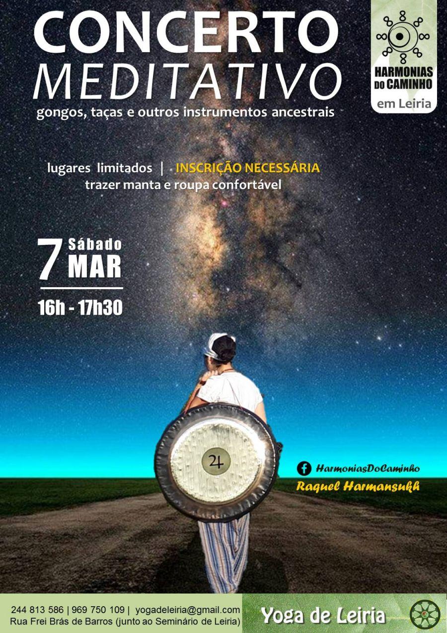 Concerto Meditativo 'Harmonias Do Caminho' (Yoga de Leiria)