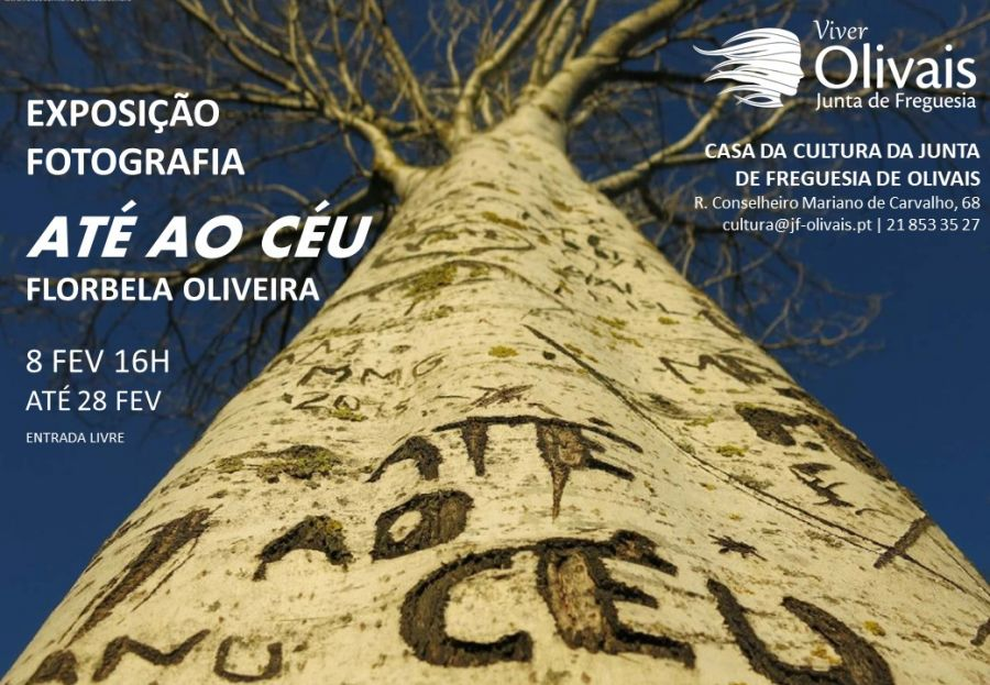 """Exposição fotografia """"Até ao céu"""" de Florbela Oliveira"""